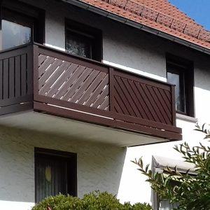 Balkon 1 (braun)