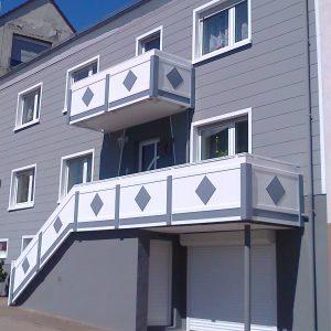 Balkon 3 (weiss, grau)