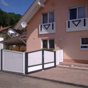 Balkon- Zaun 1